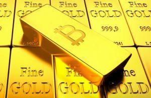 Zlato na historickém minimu oproti Bitcoinu, jehož cena překročila 52 000 USD