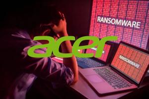 ransomwarový útok na Acer