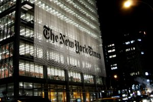 New York Times article sold with NFT for over $500,000