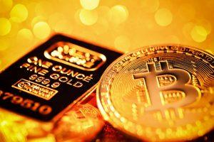 Zlato vs bitcoin, technický signál ke sledování